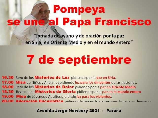 Pompeya Oracion Paz