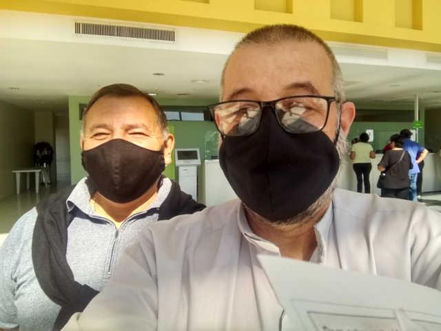 Selfi final de la vacunación